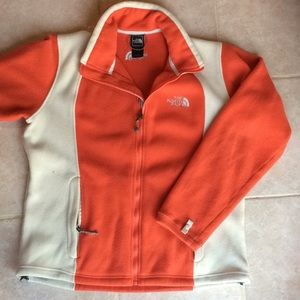 The north face fleece woman's large